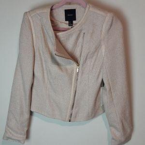 Forever 21 Jacket Blazer Seashell Pink Sz.Medium